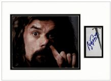 Billy Connolly Autograph Display